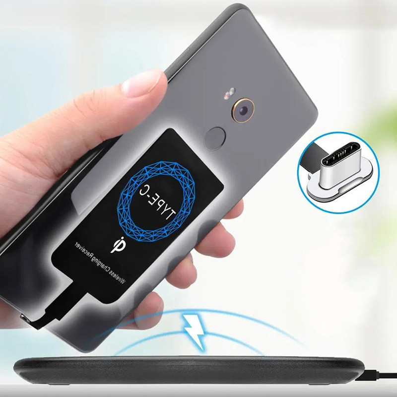 Wireless-Charger-Receiver Samsung Galaxy Qi Huawei for Nova 6/se Honor 20-Pro A70/A80/A90/.. title=