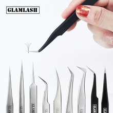 Tweezers Eyelashes-Tools Makeup Stainless-Steel 6A-SA Non-Magnetic Accurate