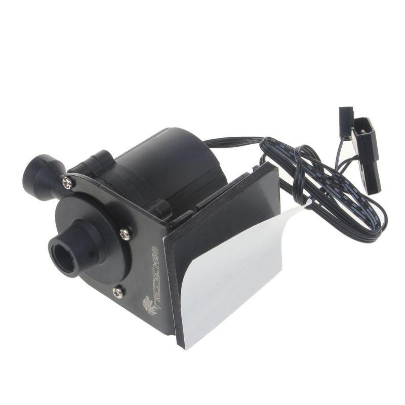 """Sc600 12V DC Water Pump 500 L//H G1//4/"""" input and output for water cooling 10W"""