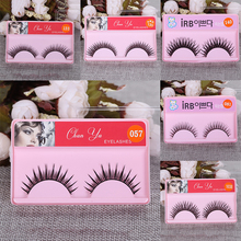 Extension-Tools Mink-Eyelashes Makeup Beauty Natural Wispy 1pair Curling 3D Thick Long
