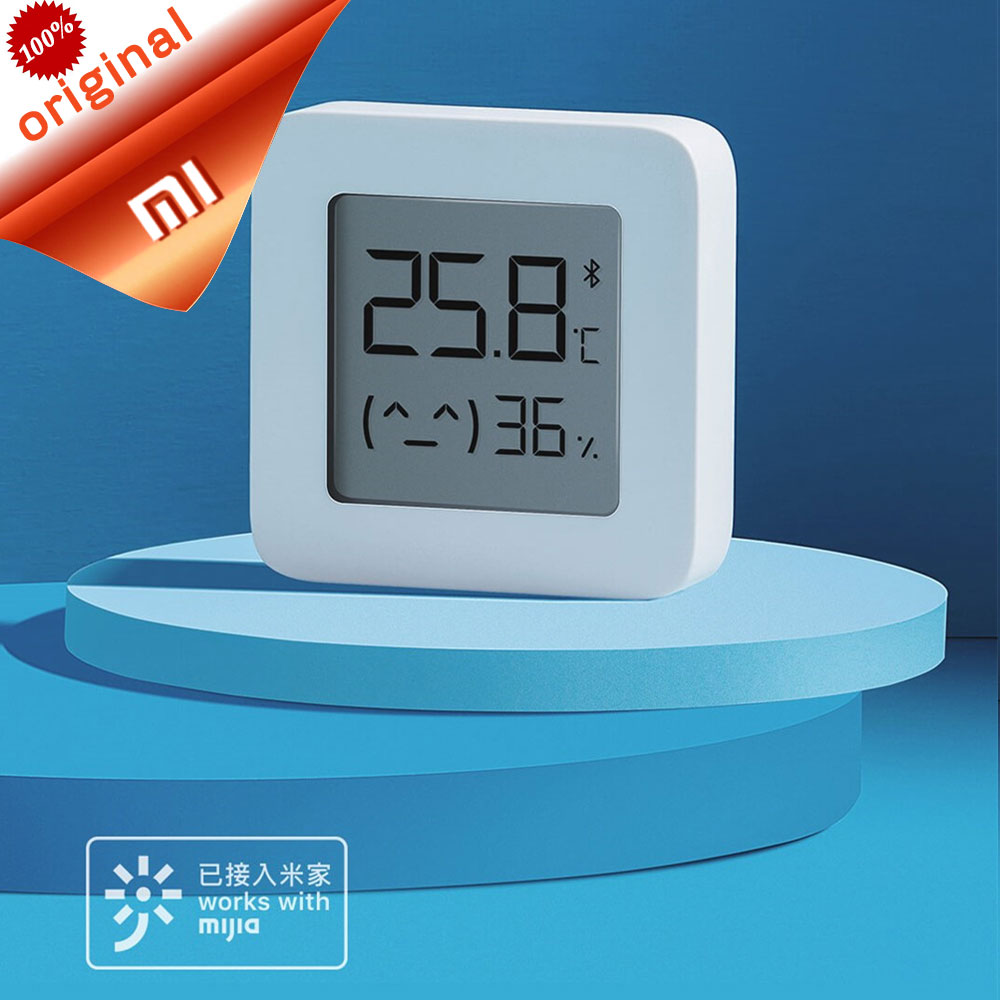 Xiaomi Bluetooth Hygrometer-Thermometer Digital Electric Smart Wireless Mijia with 2 title=