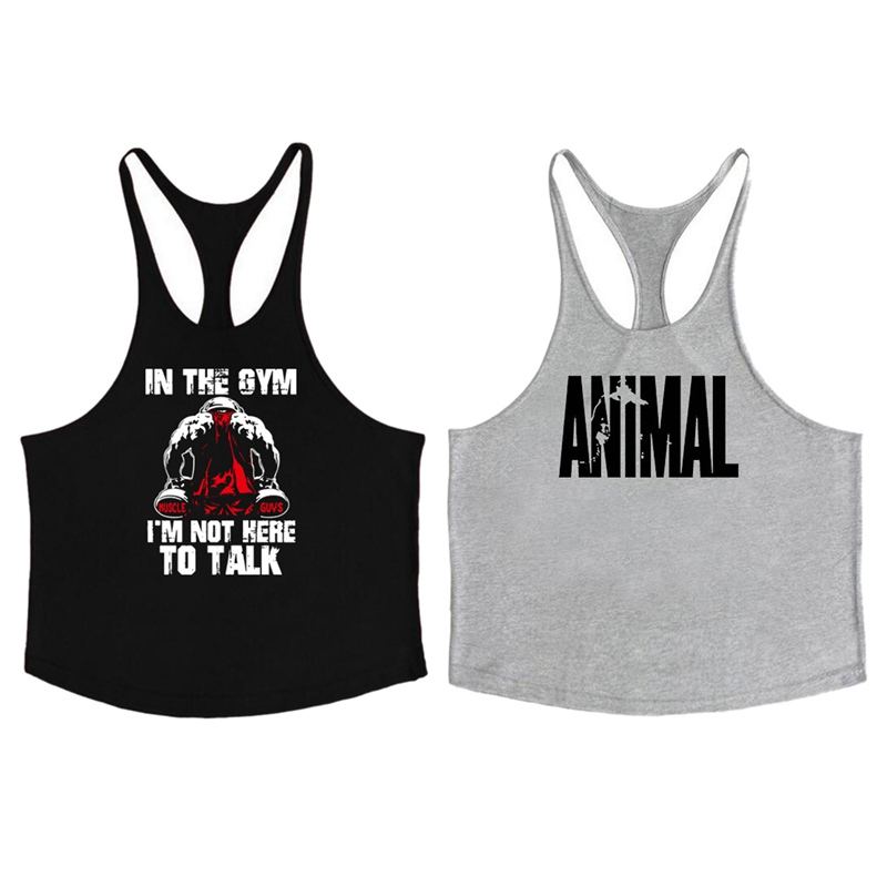 Men/'s Native Indian Chief Skull Black Workout Tank Top Beast Muscle Gym T Shirt