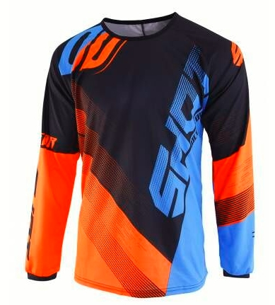 jersey bike cycling 2019 mountain long sleeve Breathable clothes motocross