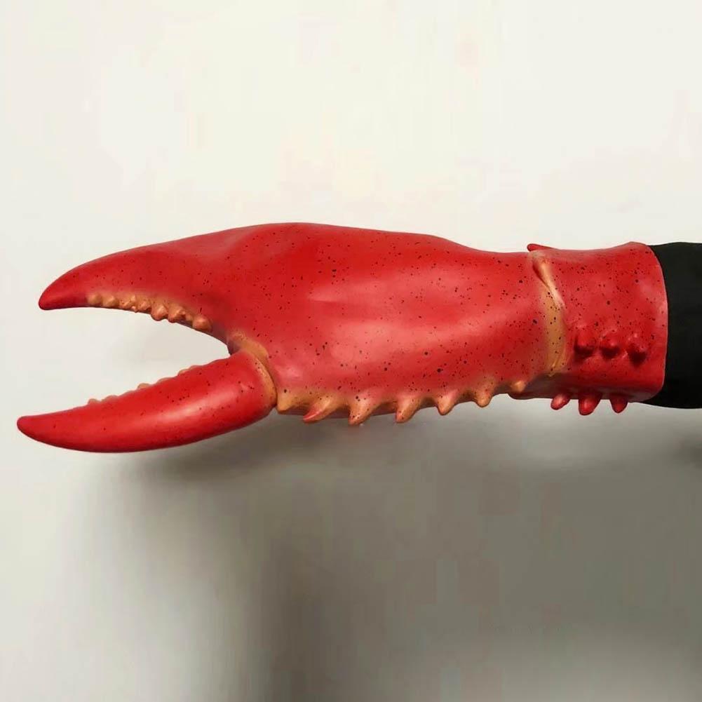 Hermosapoty Neuheit Spielzeug Late 1 Paar Krabben Hummer Klaue Handschuhe