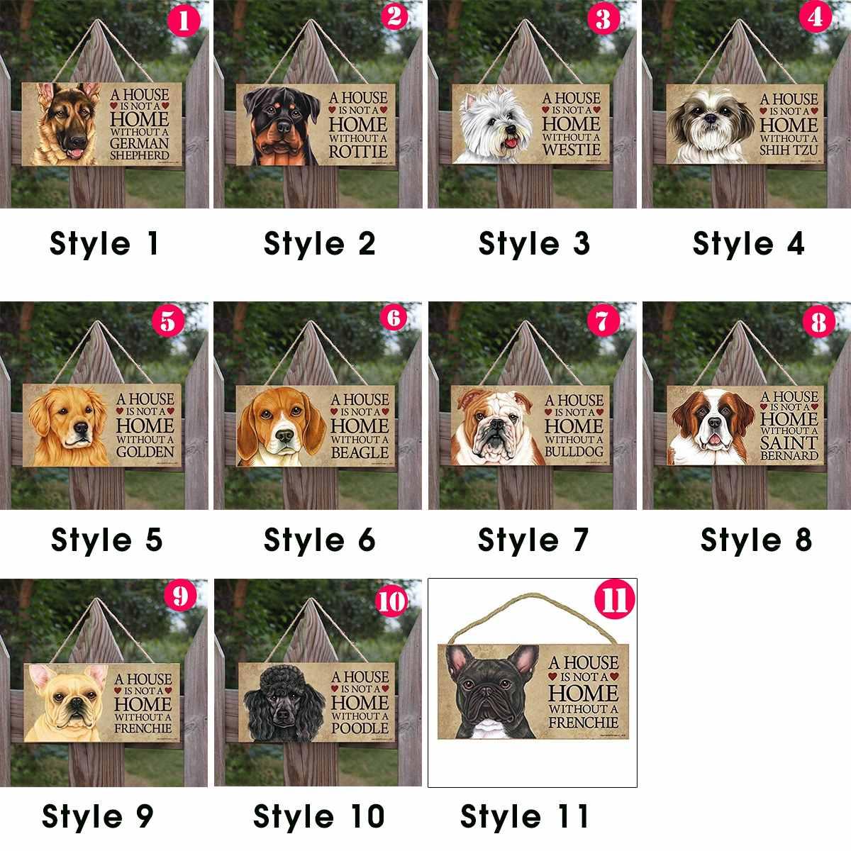 Elige la Raza de tu Perro o Gato Preferido y Decora tu casa Texto Frase en Espa/ñol. Cartel Decorativo de Madera American Standford Regalo Detalle Original para Amantes de los Animales y Mascotas