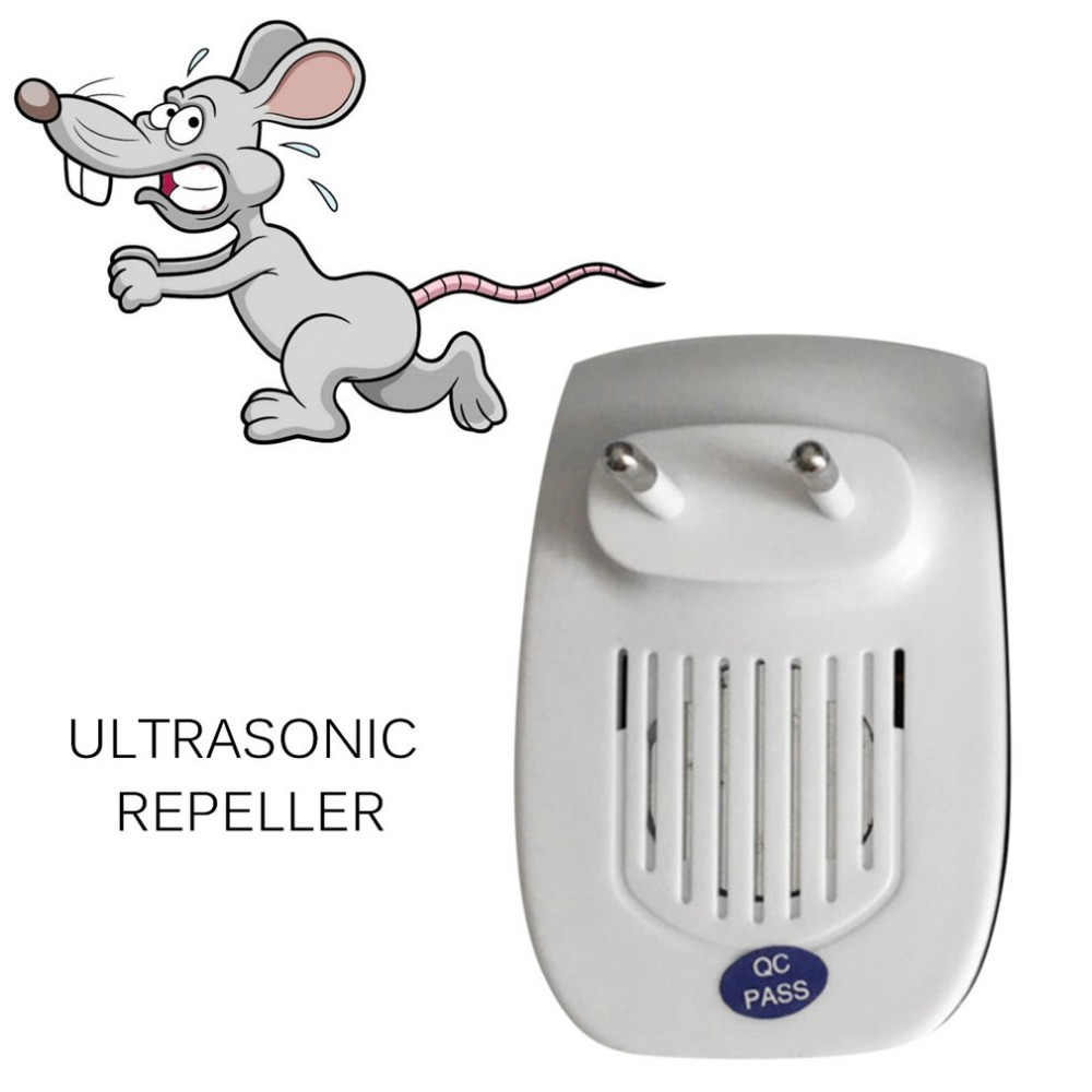 Ultrasonic-Pest-Repeller Ants Pest-Control Insects Spiders Mosquitoes Indoor Mice Non-Toxic title=
