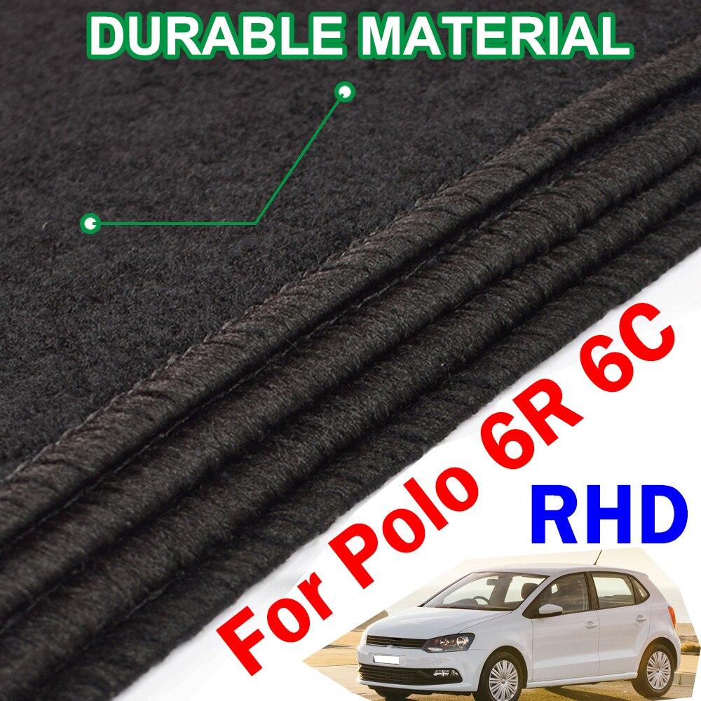 VW POLO MK5 2009-2017 Tailored Carpet Car Floor BLACK MATS BLUE EDGING