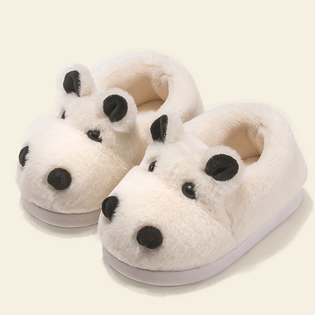 Kids Boys Girls Cute Dolphin Slippers Winter Slippers Indoor Home Slippers Shoes