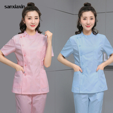 Suit Scrubs-Uniform Lab-Coat Beauty Salon Women Work-Clothes Pantssxx42005-1 Pet-Shop