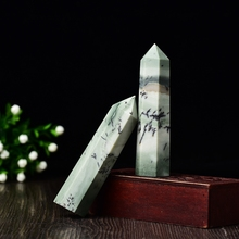 1PC Natural Crystal Point Agate Stone Quartz Healing Obelisk Wand Tower Mineral 50-80mm for Home Decoration Ornaments DIY Gift