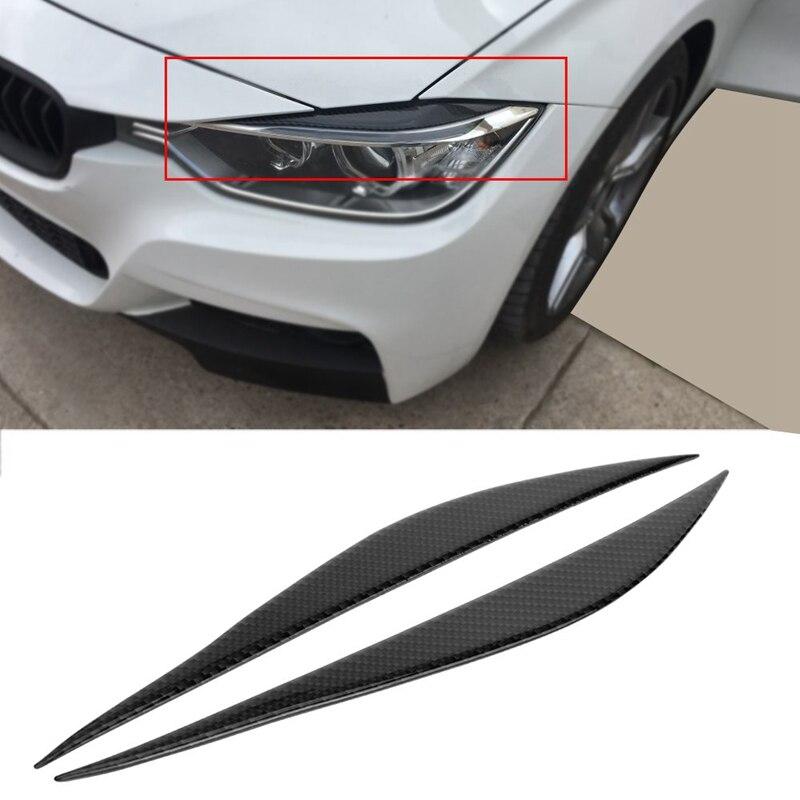 Eyebrows Eyelids BMW X5 E70 2008-2014 Headlamps Eye Line Garnish