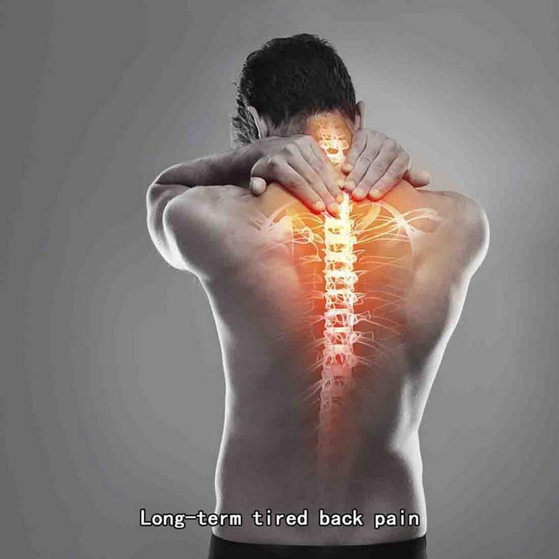 Back - Back Waist Posture Corrector Adjustable Adult Corset Correction Belt Trainer Shoulder Lumbar Brace Spine Support Belt Vest