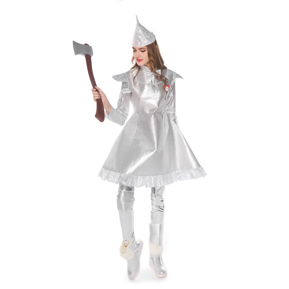 Women's The Wizard Of Oz Tin Man Costume