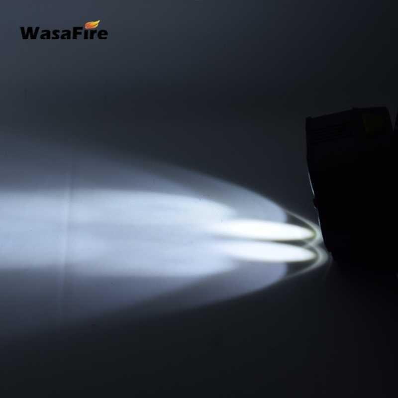 20000 lm ricaricabile con sensore di zoom Torcia frontale a LED per corsa campeggio torcia frontale