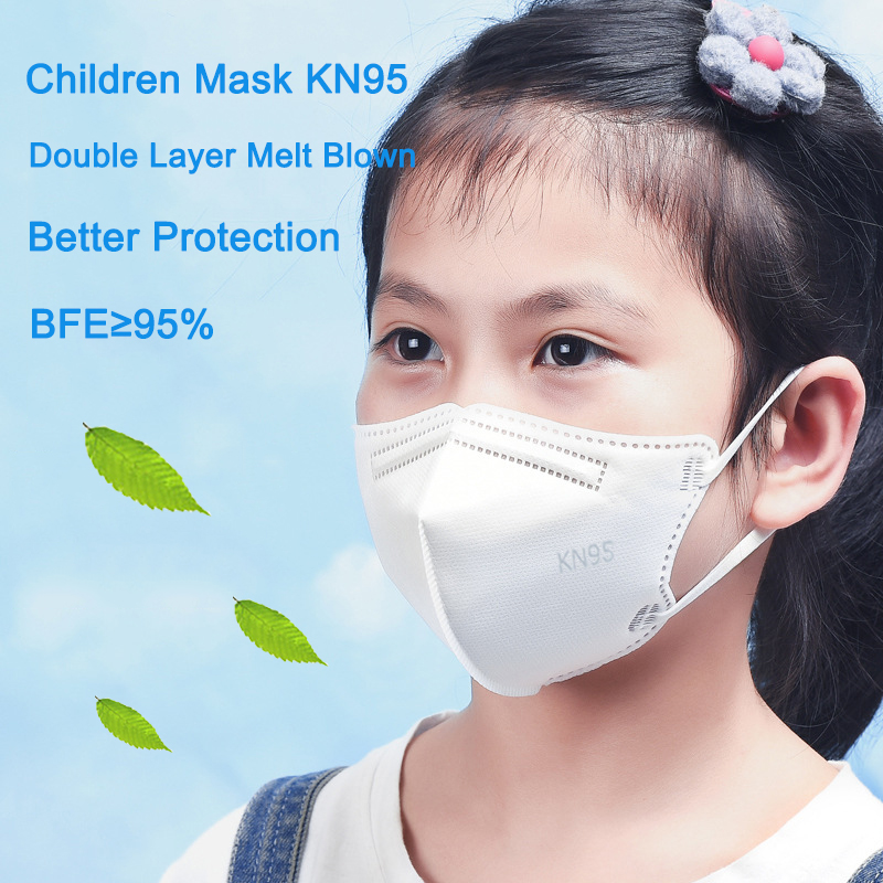 10-70 Pcs KN95 Children's Masks masque Breathable Kids Mask maske Protective Mouth Face FFP2 Mask Boy and Girl Mascarillas маска