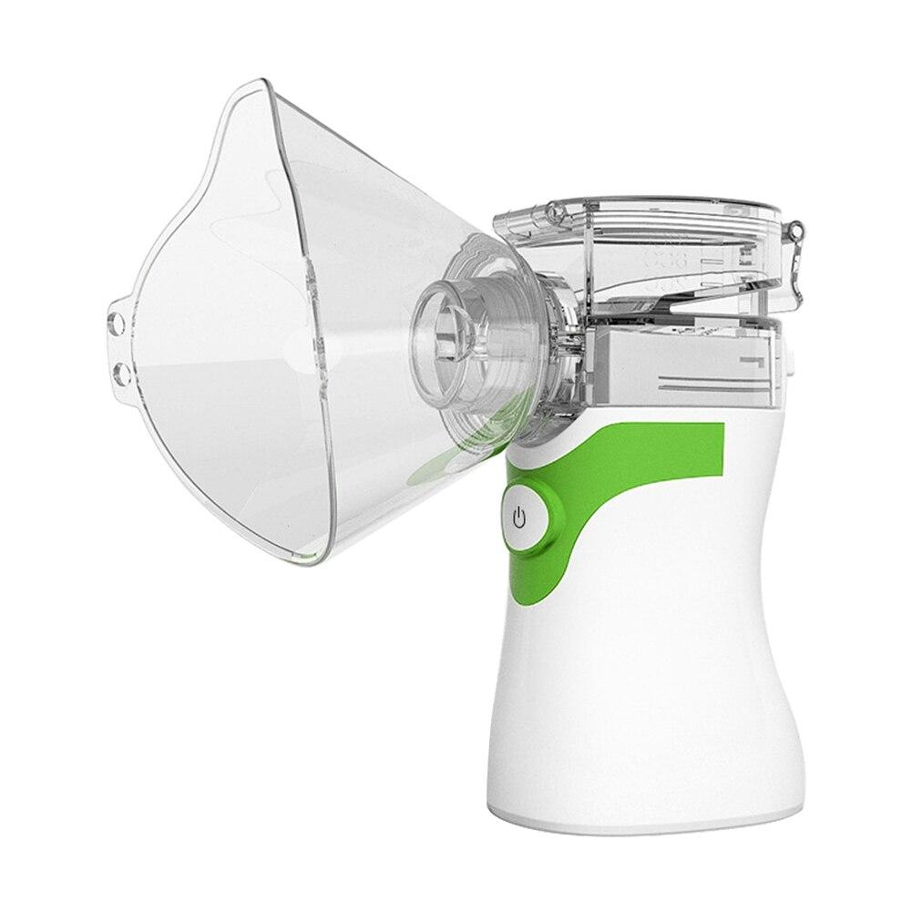 Blow Dryer - Portable Ultrasonic Nebulizer Respirator Humidifier Atomizer silent inhaler nebuliser Adults Children Home Inhaler Machine