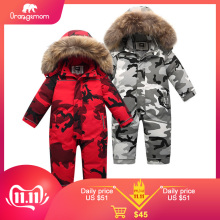 Orangemom Clothing Jumpsuit Snow-Wear Kids Coats Official Girls 90%Down-Jacket Baby Boys