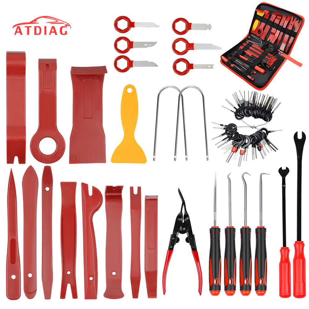 Auto Trim Removal Tool 12Pcs Car Panel Removal Tool Interior Trim Kit Fastener