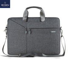 WiWU Laptop Bag 17.3 15.6 15.4 14.1 13.3 Waterproof Laptop Bag 15.6 for MacBook Air 13 Case Notebook Bag for MacBook Pro 13 Case(China)
