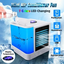 Humidifier-Purifier Air-Cooling-Fan Desktop Portable Multi-Function Mini USB Fast-Delivery