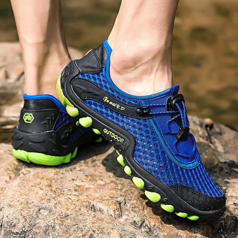 Aqua Shoes Ultra-light Quick-drying Beach Water River Walking 2019 Summer Men Mesh Breathable Flotillas Outdoor Hiking (58)