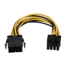 Power-Extension-Cable PSU 8pin-To-8pin Mainboard Male-To-Female ATX 18cm CPU EPS