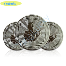 Metal Tokens Arcade-Game Coin-Pentagram Are Crown Anti-Counterfeiting-Coins 1000pcs/Pack