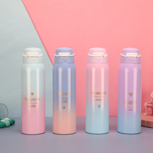 260/480ML Double Stainless Steel Vacuum Flasks Travel Tumbler Thermo Bottle Drinking