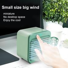 Fan Mini Portable USB with Night-Light 150ml Water-Tank Car Humidifier-Purifier Air-Conditioner