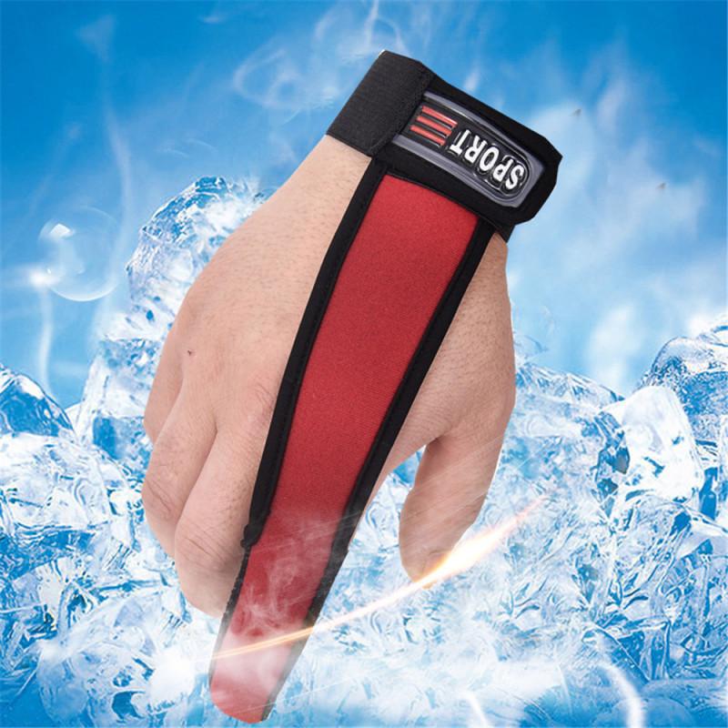 Single Finger Protector Antiscivolo Surfcasting Pesca Guanto Traspirante Attrezzature di Pesce per i Pescatori