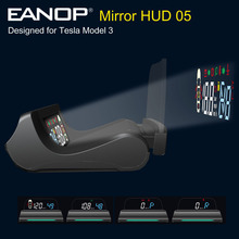 Light-Reminding Up-Display Tesla Model-3 MIRROR Alarm-Gear Speed-Projector Hud-05-Heads