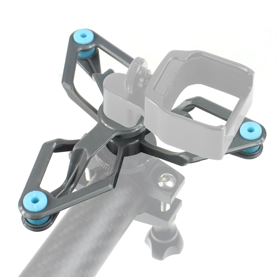 Damping Shock Absorber Mount Stand Bracket Tripod Kit 1/4