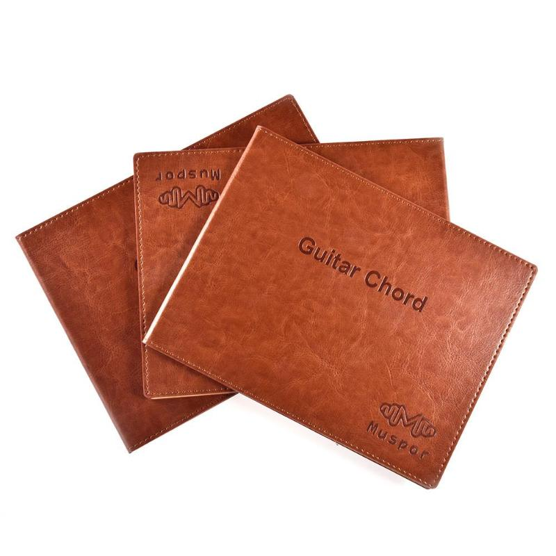 Muspor Guitar Chord Book PU 6 String Paperback Tablature Exercise Sheet R1BO