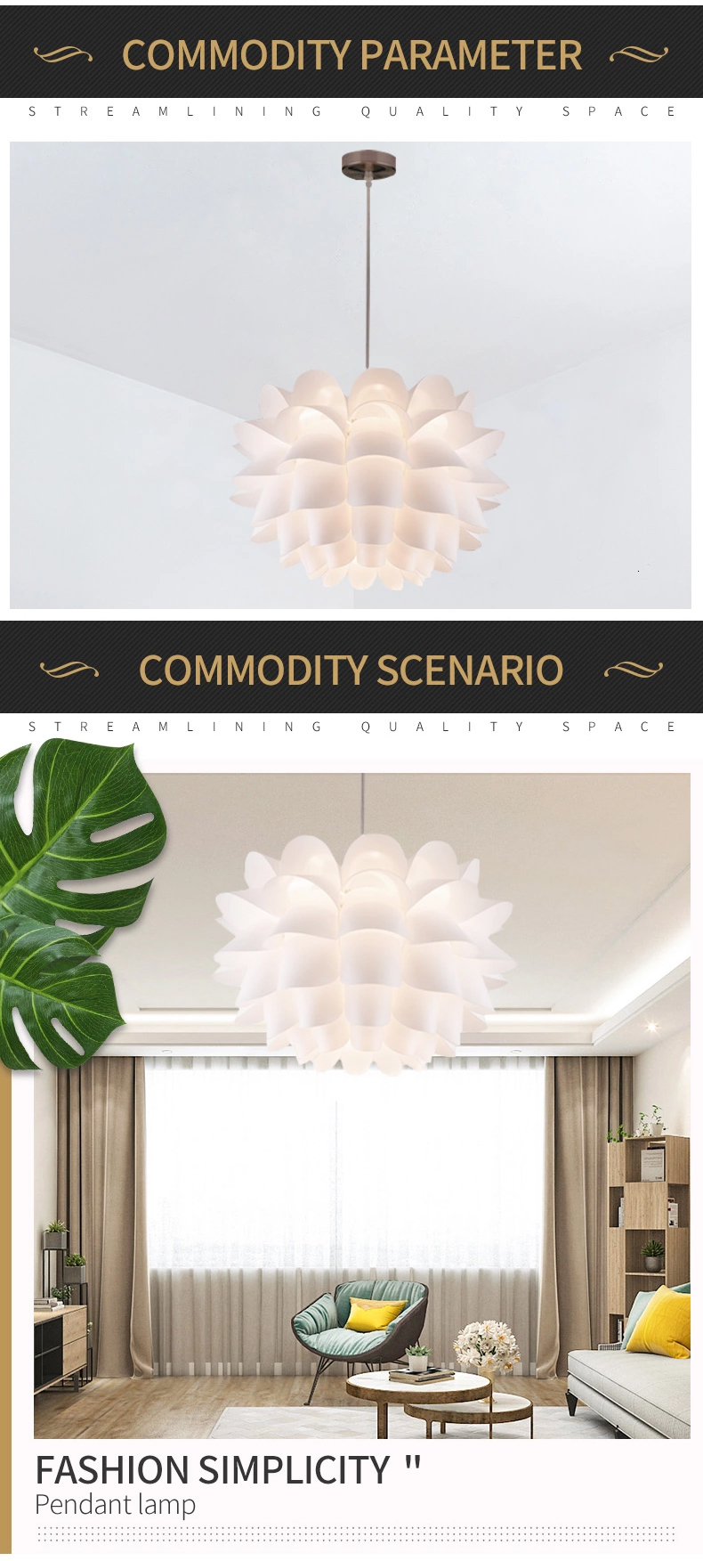 zhongshan 220v e27 iron canopyy plastic lamp shape leaf antique chandeliers and pendants lighting