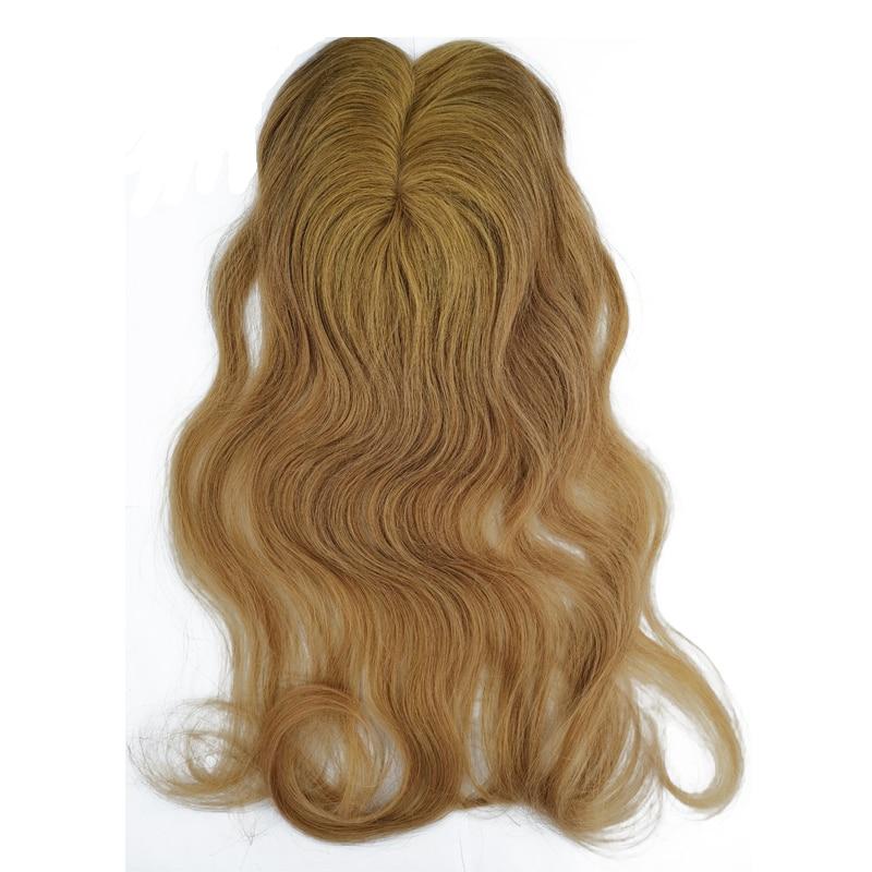 1Pcs Mono+PU Base Remy Hair Closure Straight (5