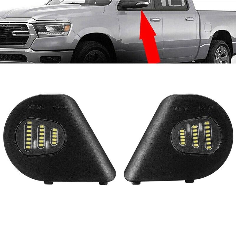 Fog Light for 2009-2017 Dodge Ram 1500 2500 3500 4500 5500 Combo LED Headlight