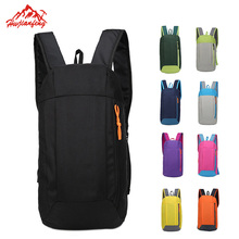 Gym Backpack Folding Travel Fitness Small Climbing Portable Bag 10L Mini for Men Child