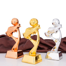 Trophy Award-Toy Football-Trophy-Plating Champion Soccer Match Sports School Mini Resin