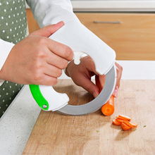 Vegetable Chopper Pizza-Cutter Rolling-Knife Circular Kitchen Meat-Slicer
