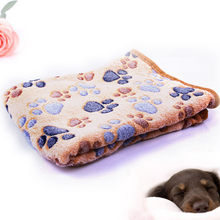 Pet Cat Paw Claw Dog Towel Rug Pet Mat dog Bed Winter Warm Cat Dog Blanket puppy Towel Blanket Sleeping Cover Towel cushion #jin(China)