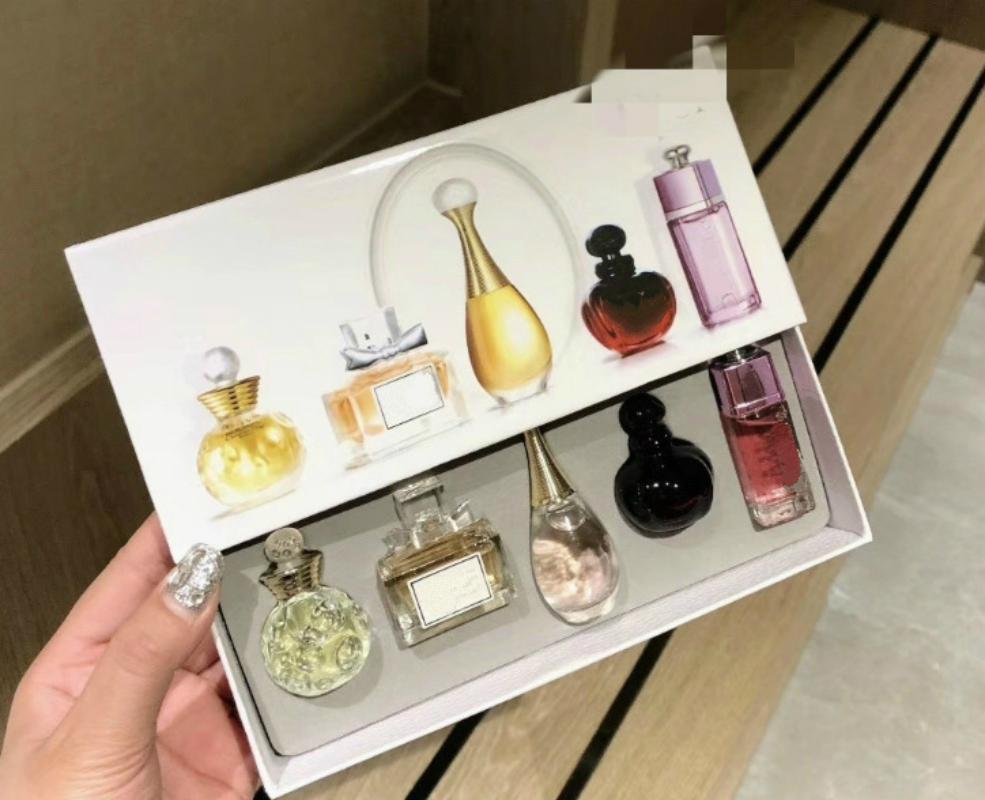 5Pcs Original Sample Perfume For Women Sexy Long Lasting Eau De Q Version Women Parfum With Beautiful Package 1Set Fragrances (3)_meitu_7