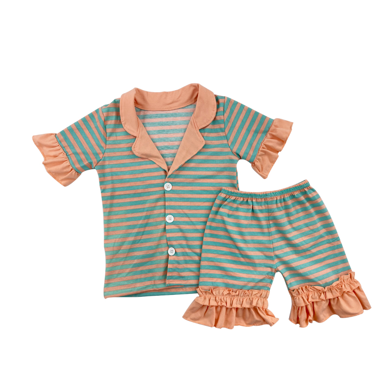 summer wholesale kid/'s pajama 0-12T boutique daily life kid/'s clothes