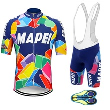Retro Cycling Jersey-Set Clothing Race Maillot Suit Shorts Road-Bike Ropa-Ciclismo Summer