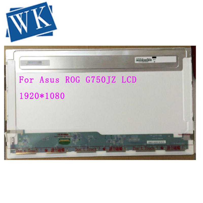 """Laptop LCD LED Screen For Asus ROG G750JZ-DS71 17.3/"""" Full-HD Display 1080P"""