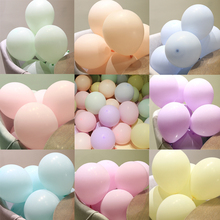 20/30pcs Macaron Pastel Latex Baloons Wedding Decoration Girl Baby Shower Arche Ballon Anniversaire Wholesale Balls For Birthday
