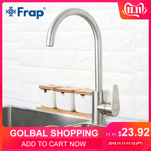 Frap Kitchen Faucet Sink-Tap Mixers Hot-And-Cold-Water-F4048 Modern 304-Stainless-Steel