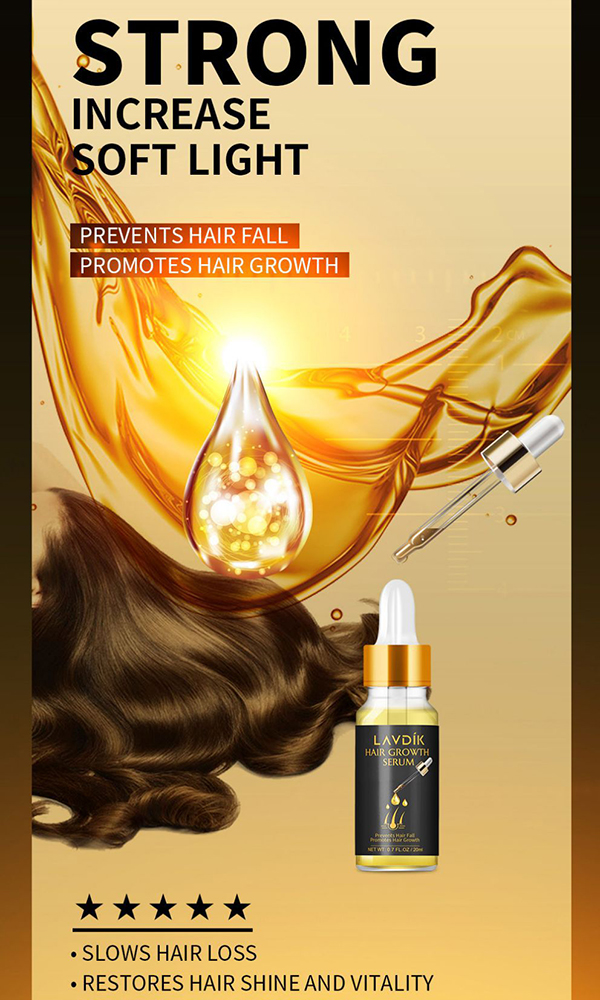 Hair Growth Treatment for Women Men With Thinning Hair Loss Serum
