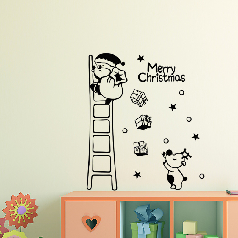 Removable Wall Stickers Christmas Decoration Art Decals DIY  M3S0
