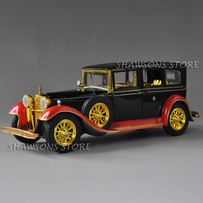Hand-Made Wecker Vintage Car Wind-up Tin Toy Vintage Decoration Adult Collection