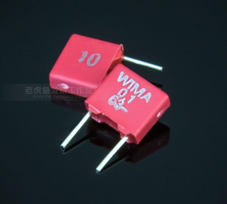 104J 400 V 0.1uF 100nf 5/% tolerancia Metalizada Condensadores de Película de Poliéster 10 un